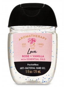 Антисептик для рук Aromatherapy Rose Vanilla Bath and Body Works
