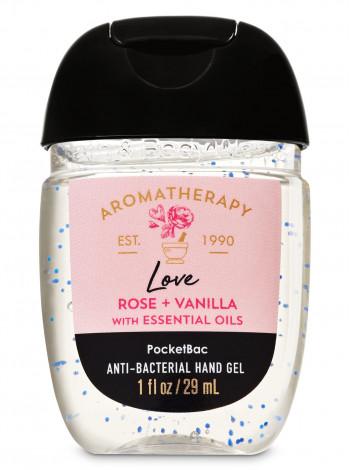 Антисептик для рук Aromatherapy Rose Vanilla Bath and Body Works