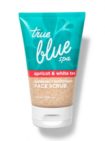 Скраб для обличчя Bath and Body Works True Blue Spa APRICOT & WHITE TEA