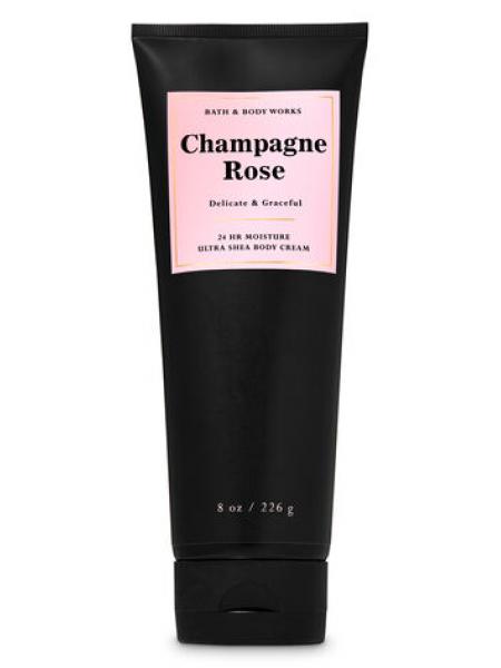 Крем для тела с маслом ши Champagne Rose от Bath and Body Works