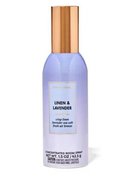 Концентрований спрей для оселі Bath and Body Works - Linen & Lavender
