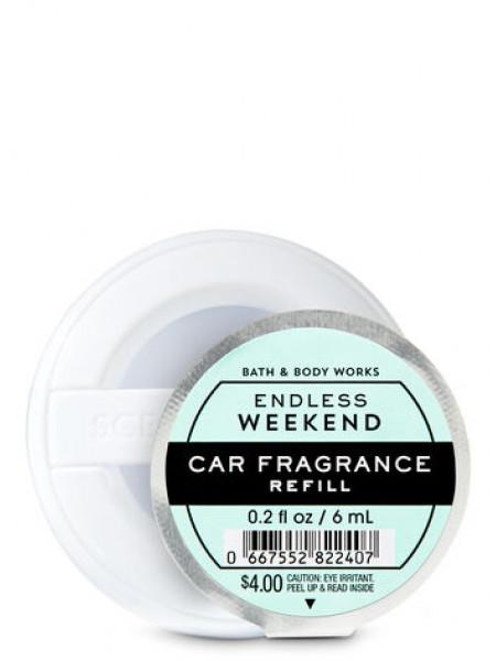Ароматизатор для автомобіля Endless Weekend від Bath and Body Works