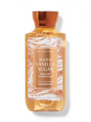 Гель для душа Warm Vanilla Sugar от Bath and Body Works
