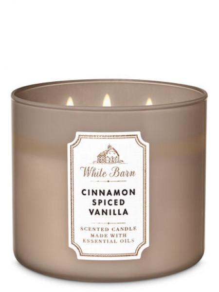 Свеча Cinnamon Spiced Vanilla От Bath And Body Works