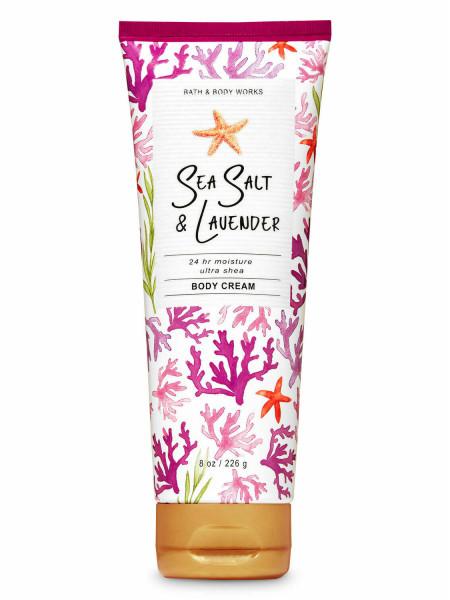Крем для тіла з олією ши Sea Salt & Lavender від Bath and Body Works