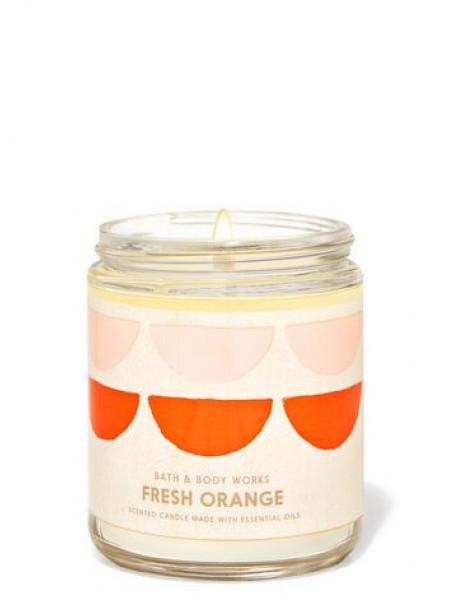 Уценка! Ароматизированная свеча Fresh Orange Bath & Body Works