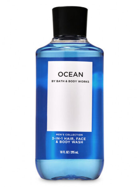 Шампунь для волосся і гель для душу 2в1 Bath and Body Works 2-in-1 Hair & Body Wash Ocean