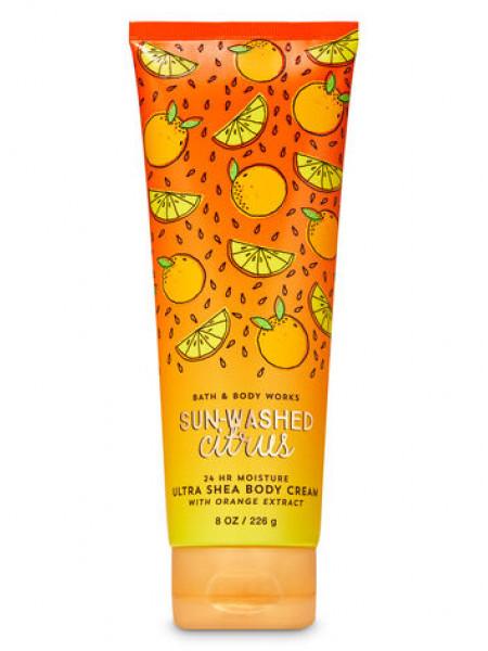 Крем для тіла з олією ши Sun-Washed Citrus від Bath and Body Works
