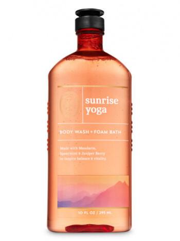 Гель-Піна Для Душа Aromatherapy By Bath & Body Works - Sunrise Yoga