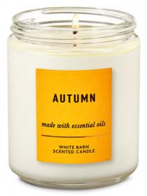 Ароматизована свічка Autumn Bath & Body Works