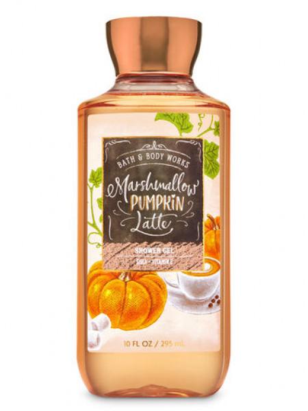 Гель для душа Marshmallow Pumpkin Latte від Bath and Body Works
