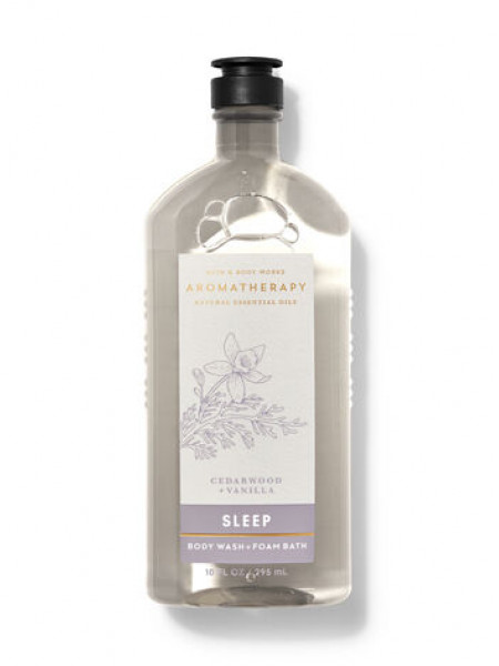 Гель-Піна Для Душа Aromatherapy Sleep By Bath & Body Works - Cedarwood Vanilla