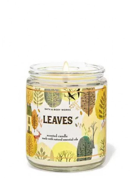 Ароматизированная свеча Leaves Bath & Body Works