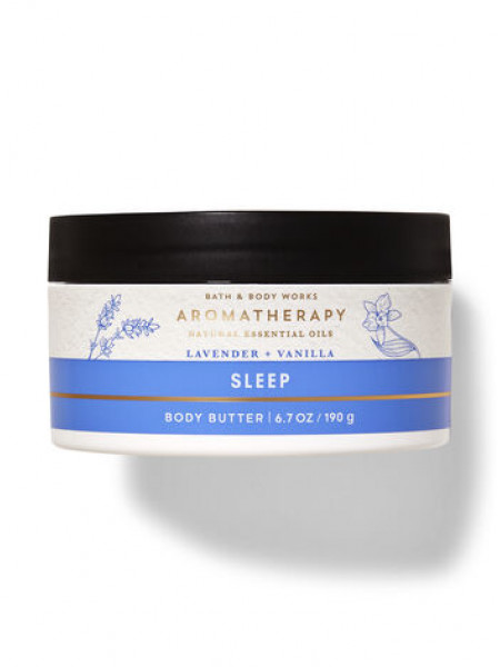 Баттер для тіла Aromatherapy Lavender Vanilla Bath and Body Works