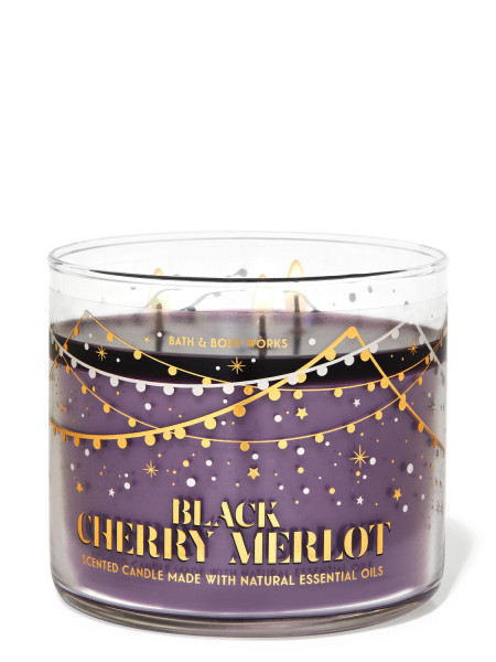 Свічка Black Cherry Merlot від Bath And Body Works