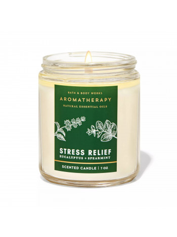 Ароматизована свічка Aromatherapy Eucalyptus Spearmint Bath & Body Works