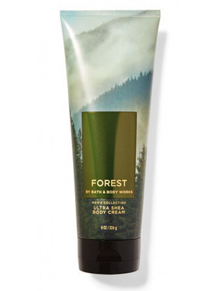 Крем для тела с маслом ши Forest Men's Collection Bath and Body Works для мужчин