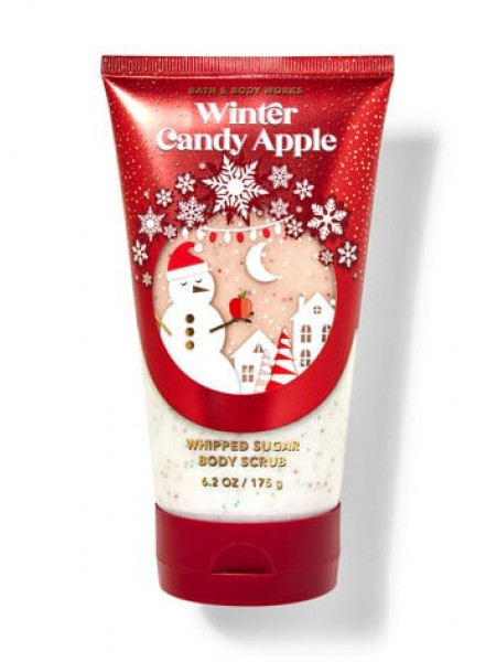 Скраб Winter Candy Apple от Bath And Body Works