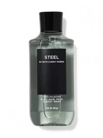 Bath and Body Works 2-in-1 Hair & Body Wash Steel