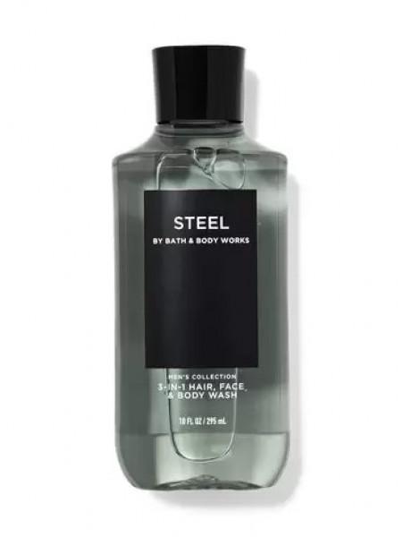 Bath and Body Works 2-in-1 Hair & Body Wash Steel