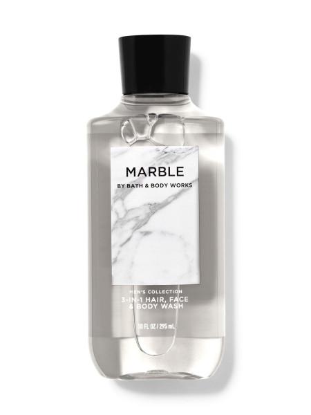 Шампунь для волосся і гель для душу 2в1 Bath and Body Works 2-in-1 Hair & Body Wash Marble