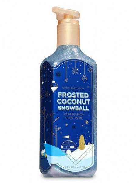 Мыло для рук Frosted Coconut Snowball Bath and Body Works
