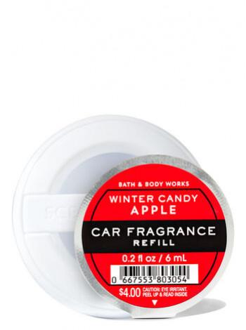 Ароматизатор для автомобіля Winter Candy Apple від Bath and Body Works