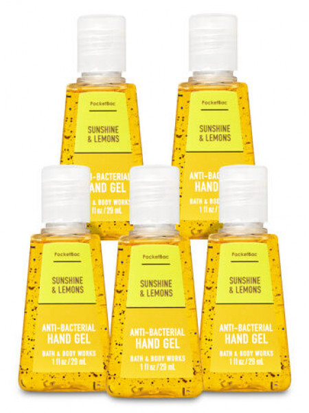 Антисептик для рук Sunshine & Lemons Bath and Body Works