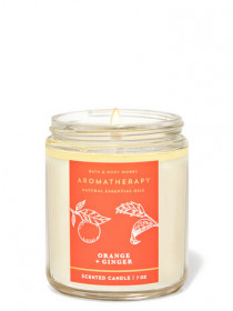Ароматизована свічка Aromatherapy Orange Ginger Bath & Body Works