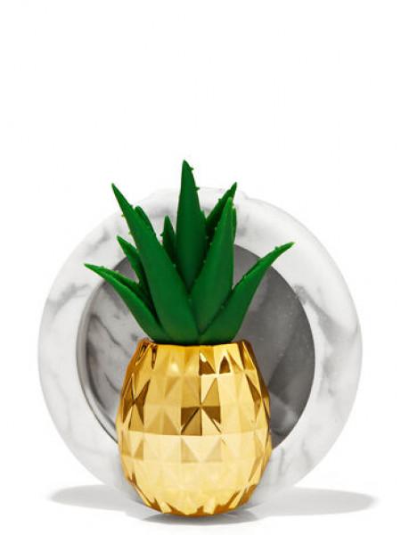 Тримач для ароматизатора від Bath and Body Works - Pineapple Succulent Visor Clip