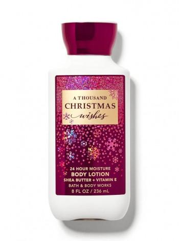 Лосьон One Thousand Christmas Wishes от Bath and Body Works