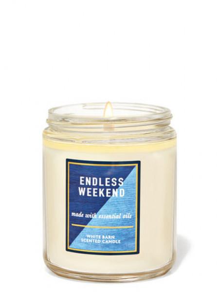 Ароматизированная свеча Endless Weekend Bath & Body Works