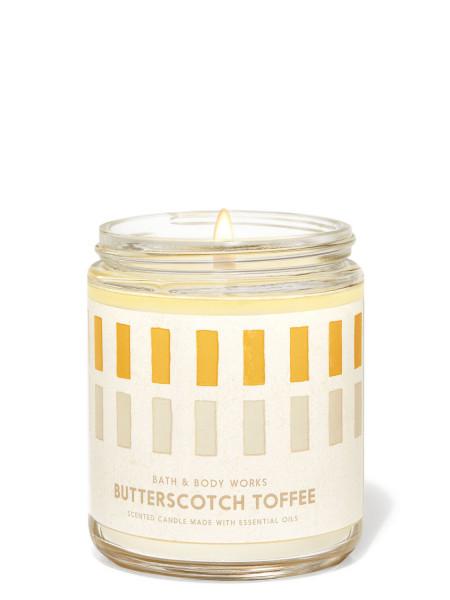 Ароматизированная свеча Butterscotch Toffee Bath & Body Works