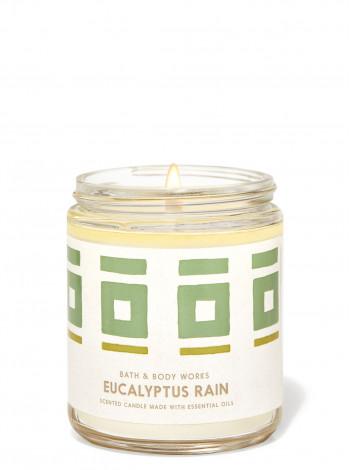 Ароматизована свічка Eucalyptus Rain Bath & Body Works