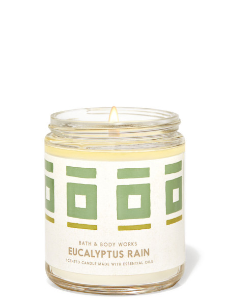 Ароматизированная свеча Eucalyptus Rain Bath & Body Works