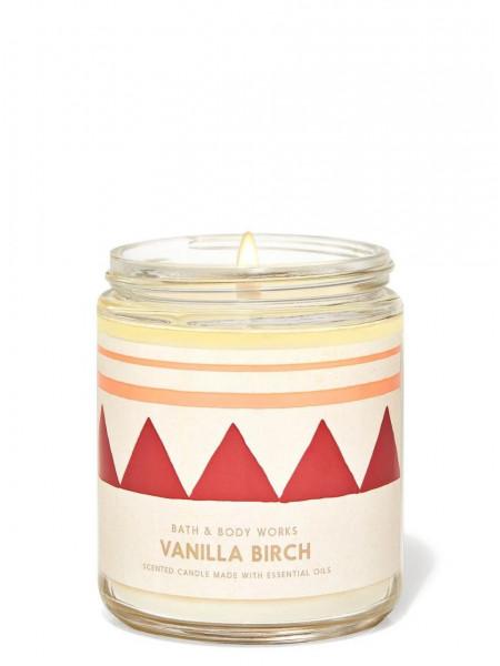 Ароматизированная свеча Vanilla Birch Bath & Body Works