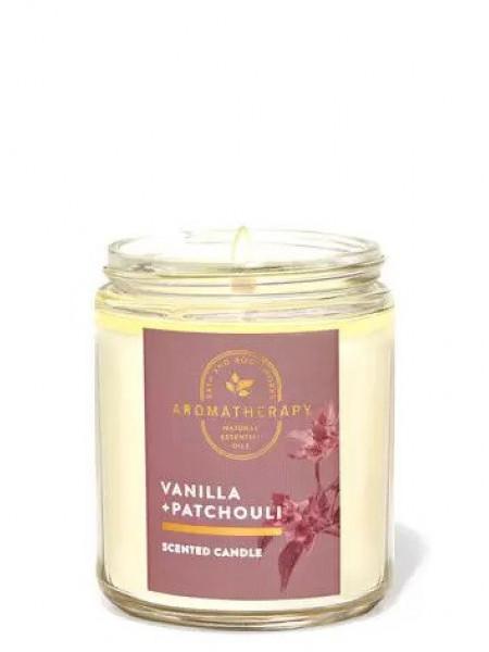 Уценка! Ароматизированная свеча Vanilla Patchouli Bath & Body Works