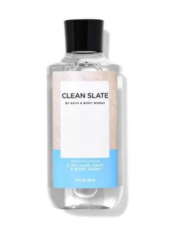Bath and Body Works 2-in-1 Hair & Body Wash Clean Slate - Шампунь для волосся і гель для душу 2в1 «морські цитрусові, блакитна шавлія і сандалове дерево»