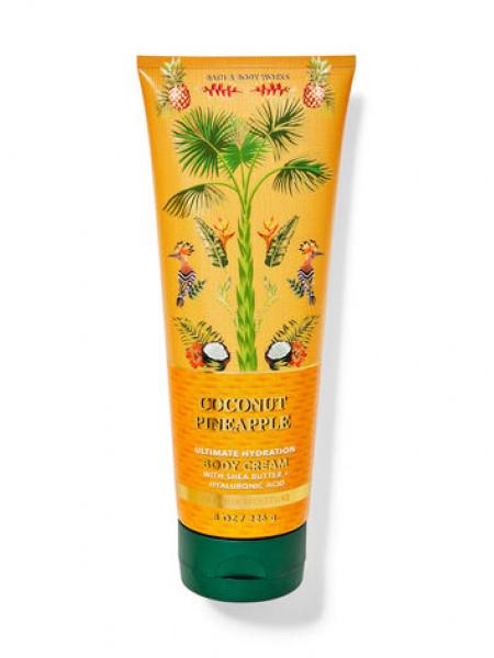 Крем для тіла Coconut Pineapple від Bath and Body Works