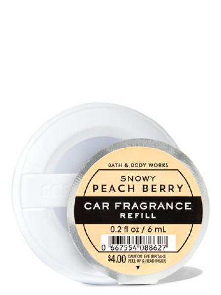 Ароматизатор для автомобіля Snowy Peach Berry від Bath and Body Works