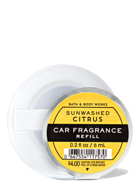 Ароматизатор для автомобіля Sun-Washed Citrus від Bath and Body Works