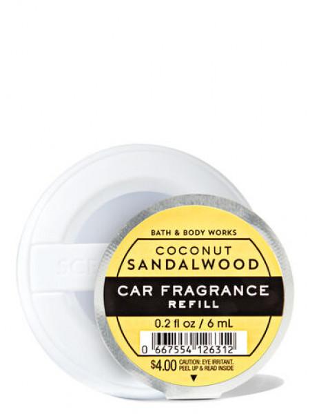 Ароматизатор для автомобіля Coconut Sandalwood від Bath and Body Works