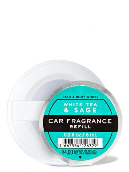 Ароматизатор для автомобіля White Tea and Sage від Bath and Body Works