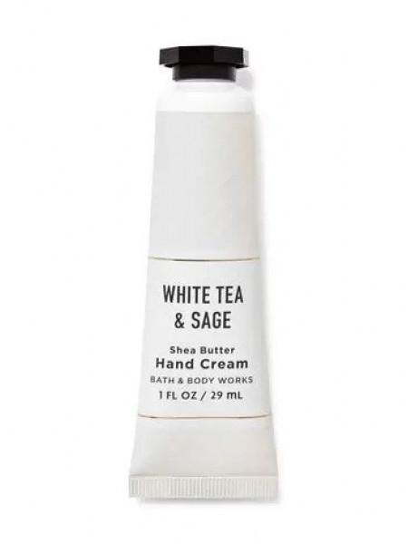 Ароматный крем для рук Bath & Body Works Hand Cream White Tea and Sage 29мл