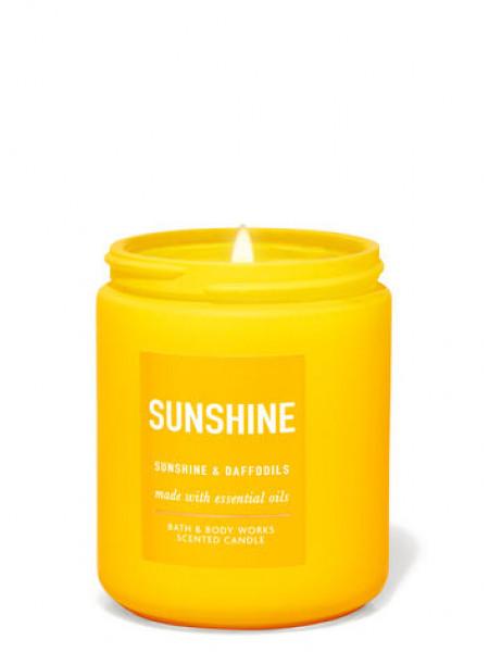Ароматизированная свеча Sunshine Daffodils Bath & Body Works