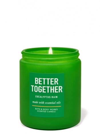 Уцінка! Ароматизована свічка Eucalyptus Rain Bath & Body Works