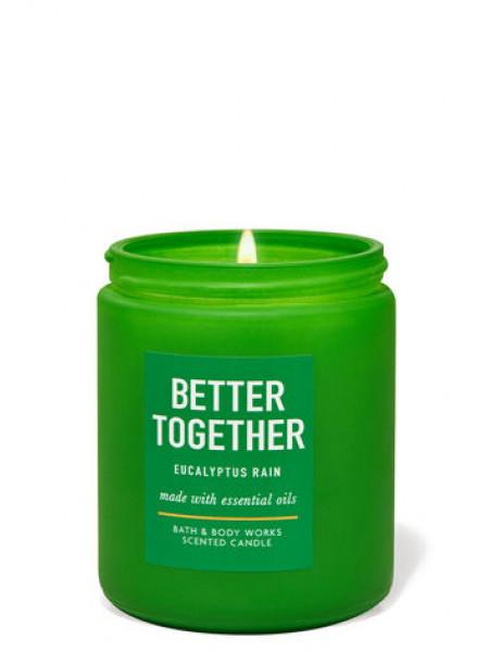 Уценка! Ароматизированная свеча Eucalyptus Rain Bath & Body Works