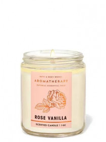 Ароматизована свічка Rose Vanilla Bath & Body Works