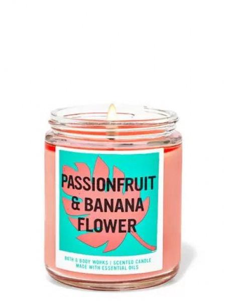 Свеча Passionfruit & Banana Flower От Bath And Body Works