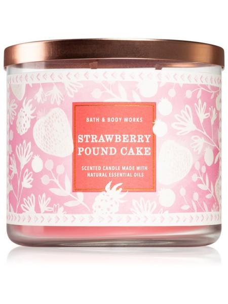 Свеча Strawberry Pound Cake От Bath And Body Works